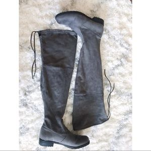 Tied Over the Knee Boots